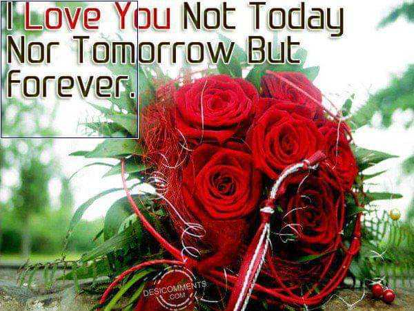 newspaper clicks - I Love You Not Today Nor Tomorrow But Forever . DESICOMMENTS O COM - ShareChat