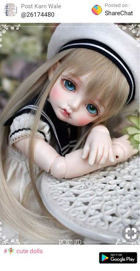 garden - HERO RELIARI F00174 Aon Post Karn Wale @ 26174480 Posted on : ShareChat - ROSEN LIED # * cute dolls GET IT ON Google Play  - ShareChat