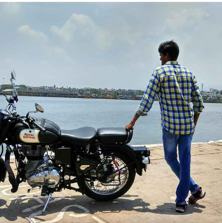my style - ROYAL ENFIELD - ShareChat
