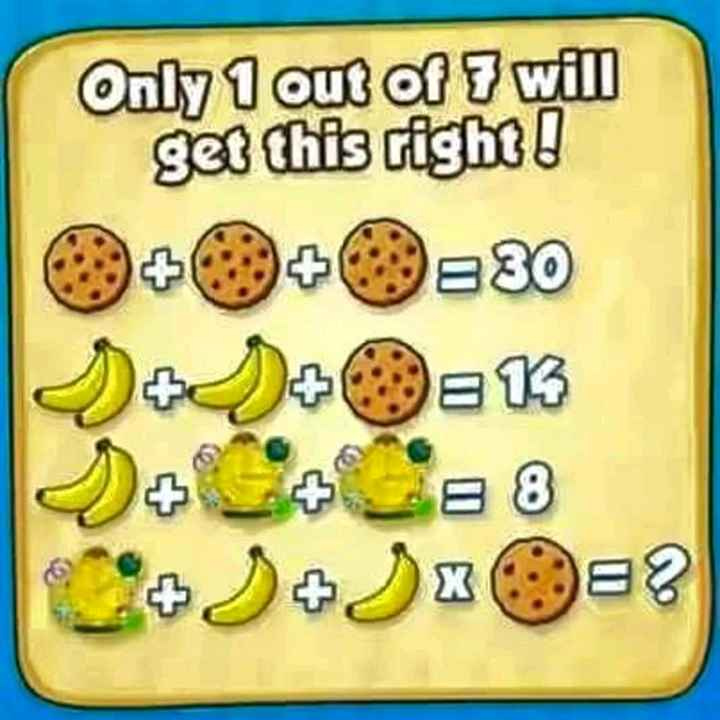 maths trick - Only 1 out of 7 will get this right ! + 0 + 0 = 30 - ShareChat