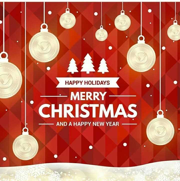 merry christmas day - HAPPY HOLIDAYS - MERRY - CHRISTMAS AND A HAPPY NEW YEAR - ShareChat