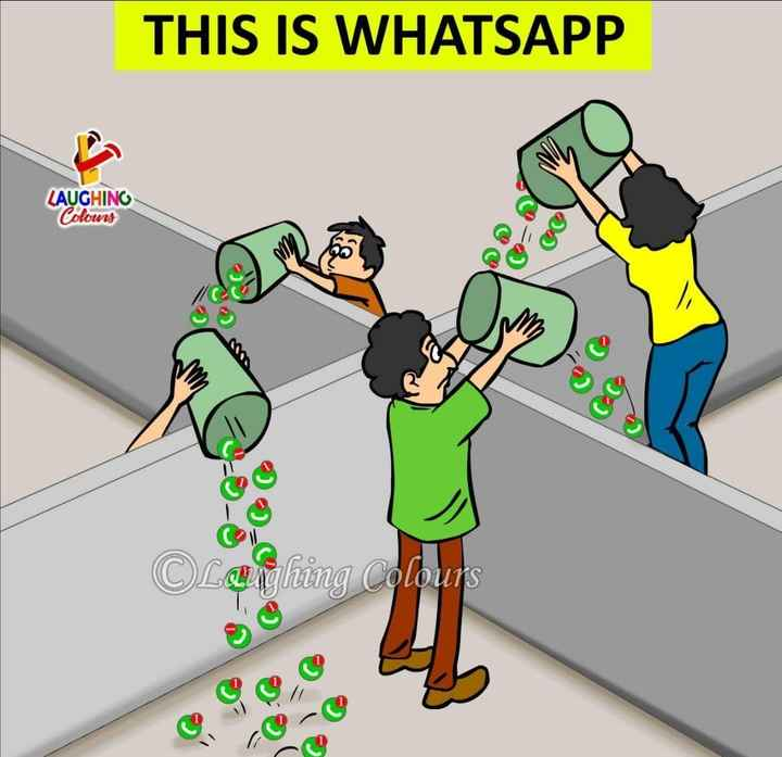 whatsapp jock - THIS IS WHATSAPP LAUGHING Colours O caighing Colours u - re - ShareChat