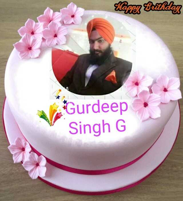 👳‍♂️ ਸਰਦਾਰ ਜੀ - Happy Brithday Gurdeep Singh G - ShareChat