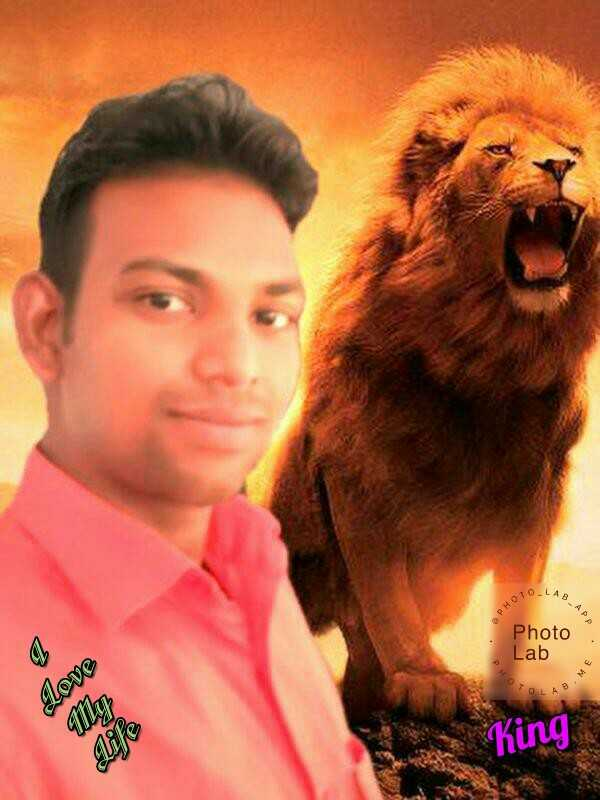 singh is king - ABAP PHOTO Photo Lab TOLA Love My King We - ShareChat