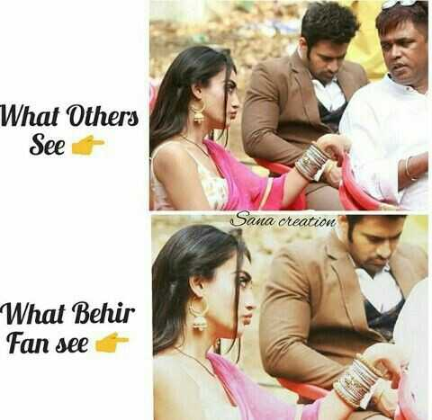 Behir - What Others See Sana creation What Behir Fan see + - ShareChat