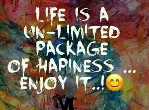 mere vichar - LIFE IS A ON - LIMITED PACKAGE OF HAPINESS ENJOY IT . . ! - ShareChat
