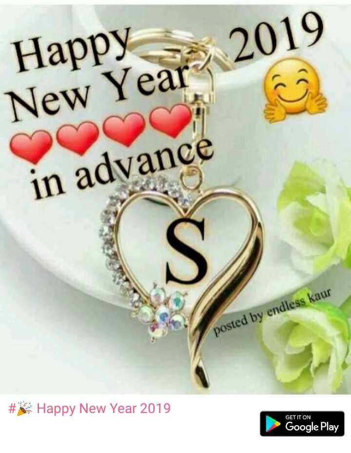 2019 का स्वागत - Happy New Year 2019 in advance posted by endless kaur # Happy New Year 2019 GET IT ON Google Play - ShareChat