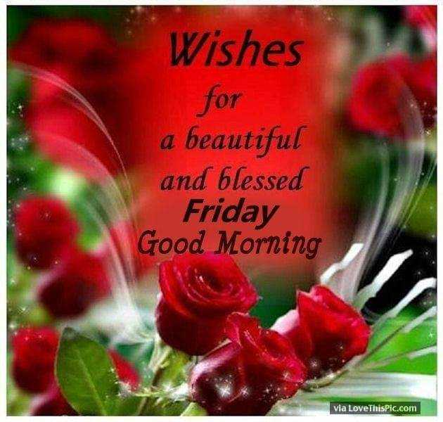 🌷शुभ शुक्रवार - Wishes for a beautiful and blessed Friday Good Morning via LoveThisPic . com - ShareChat