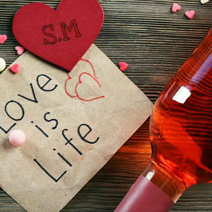 love image - S . M LOVE is C Life - ShareChat