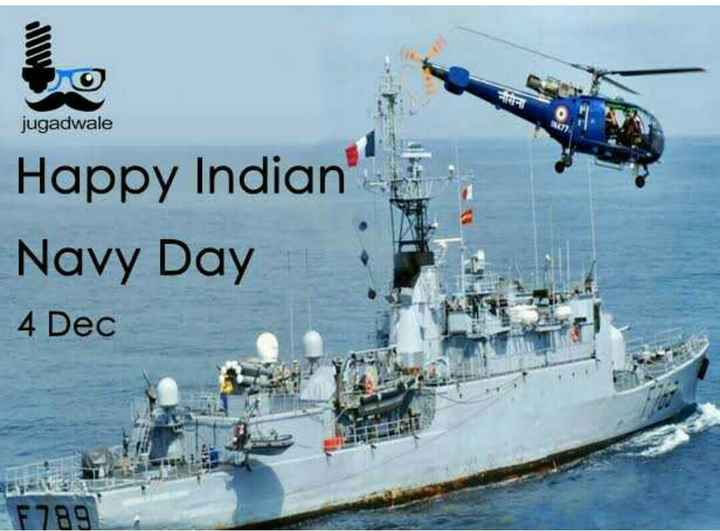 Indian Navy Day - 0 jugadwale Happy Indian Navy Day 4 Dec F 789 - ShareChat