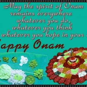 kerala onam festival - May the spirit of Onam remains everywhere whatever you do , think hope in your appy - - ShareChat