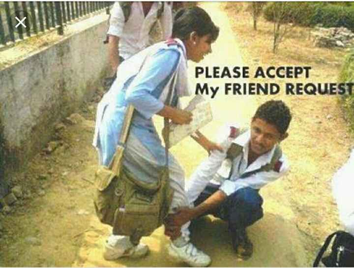 ये है आशिकी😍 - PLEASE ACCEPT My FRIEND REQUEST - ShareChat