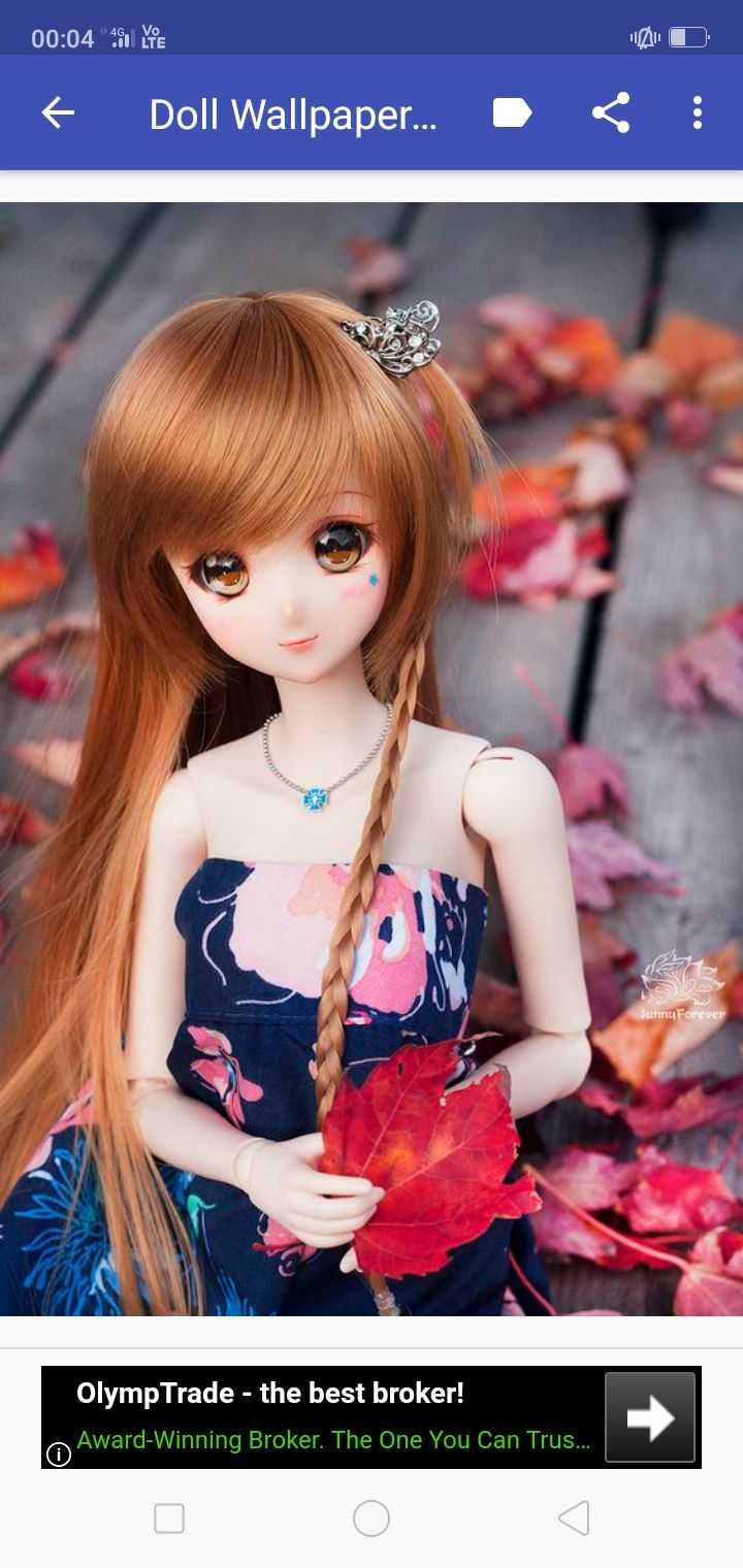 🤠Barbie Dolls & Toys - 00 : 04 SOUTE O + Doll Wallpaper . . . < ! Sunnu Forever Olymp Trade - the best broker ! A Award - Winning Broker . The One You Can Trus . . . . - ShareChat