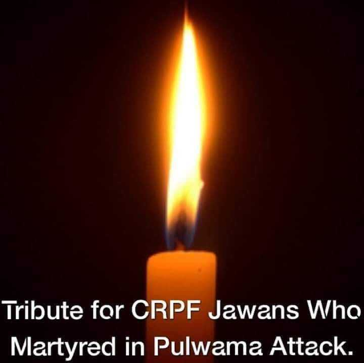 Flag Day - Tribute for CRPF Jawans Who Martyred in Pulwama Attack . - ShareChat