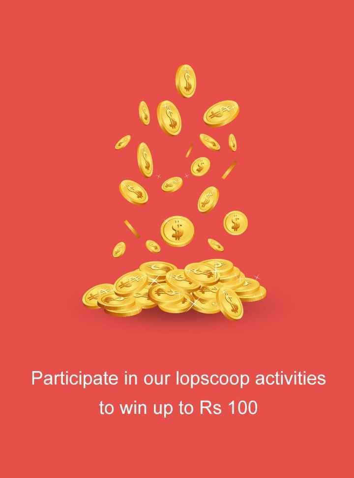 Happy Birthday ShareChat - E Participate in our lopscoop activities to win up to Rs 100 - ShareChat