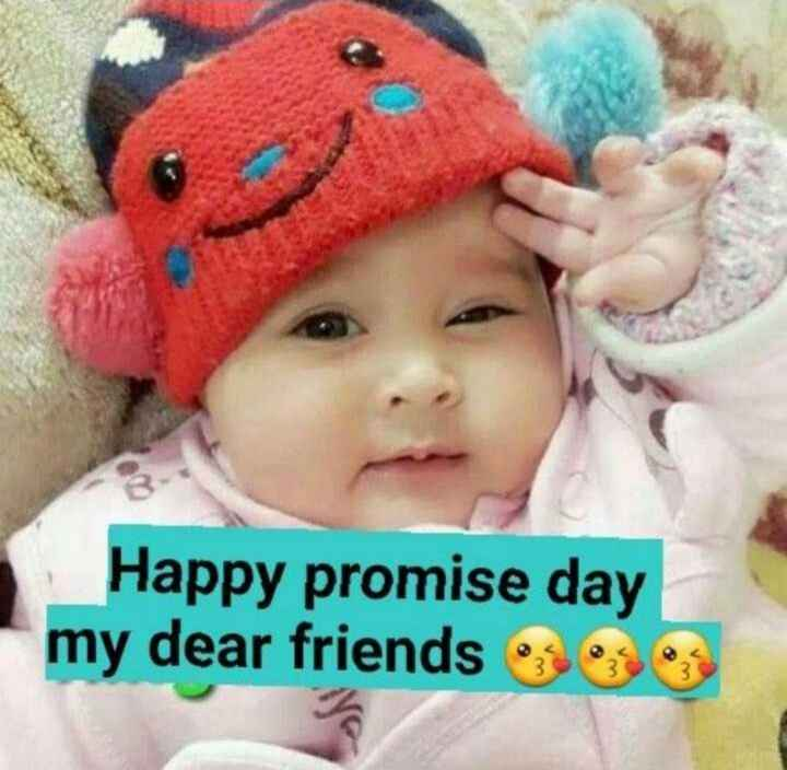 Happy Promise Day 🤞🤞🤞 - Happy promise day my dear friends - ShareChat