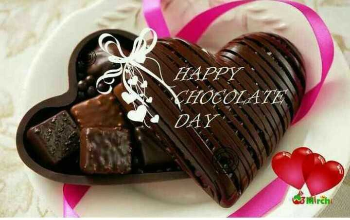 🍫Happy chocolate day - HAPPY FHOCOLATE DAY : w3 Mirch - ShareChat