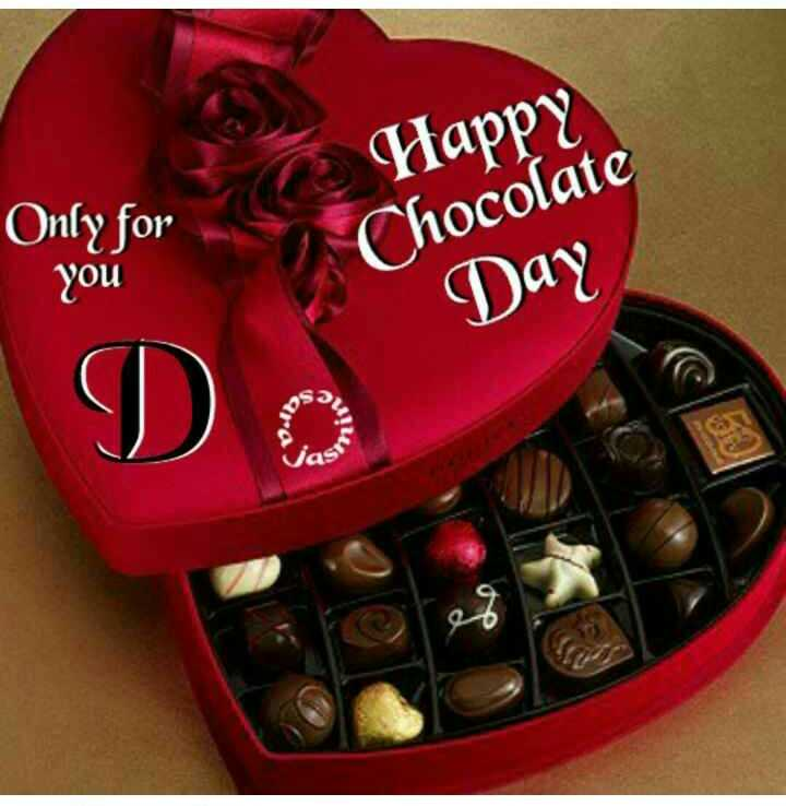 🍫 Happy chocolate day - Happyte Only for Chocolate you Day DO ni Vas - ShareChat