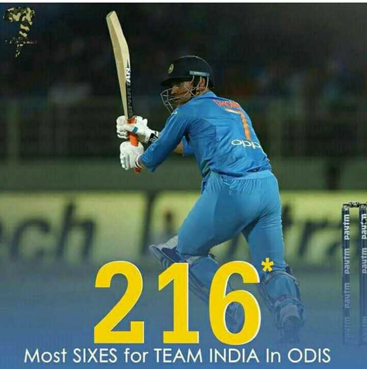 Ind vs Aus 1st ODI - ] Paytm uned wined Paytm Pau 216 HUT Most SIXES for TEAM INDIA IN ODIS - ShareChat