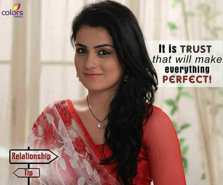 Kaira - colors ats It is TRUST that will make everything PERFECT ! Relationship - ShareChat