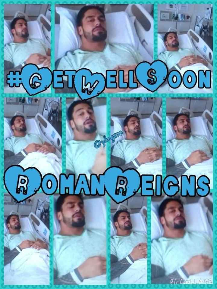 👊 WWE 👊 - CETWELL SOON @ ubaa899 ROMAN REIGNS PicCOLLAGE - ShareChat