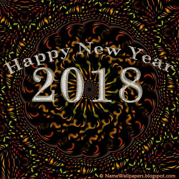 🌸🌸🌺happy new year🌺🌸🌸 - ASIC appy New . yo 2 Les 2018 WERS © NameWallpapers . blogspot . com - ShareChat