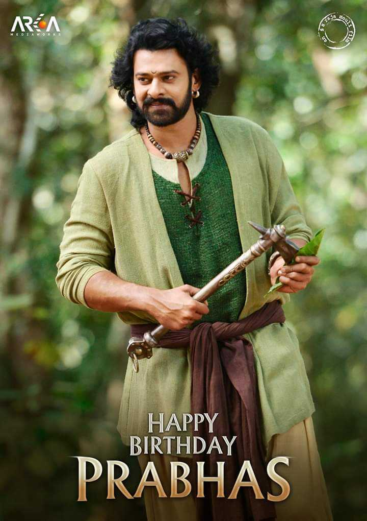 Happy birthday prabhas - AREA HAPPY BIRTHDAY PRABHAS - ShareChat