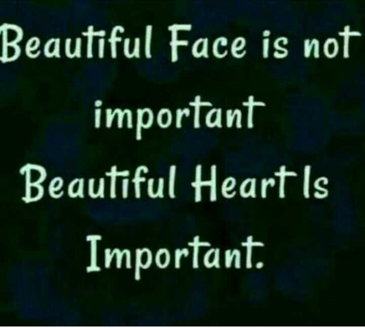 ghaint jatti - Beautiful Face is not important Beautiful Heart is Important .  - ShareChat
