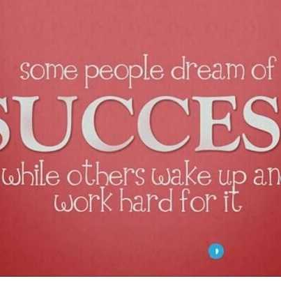 Successful Network Marketing - Some people dream of SUCCES while others wake up an work hard for it - ShareChat
