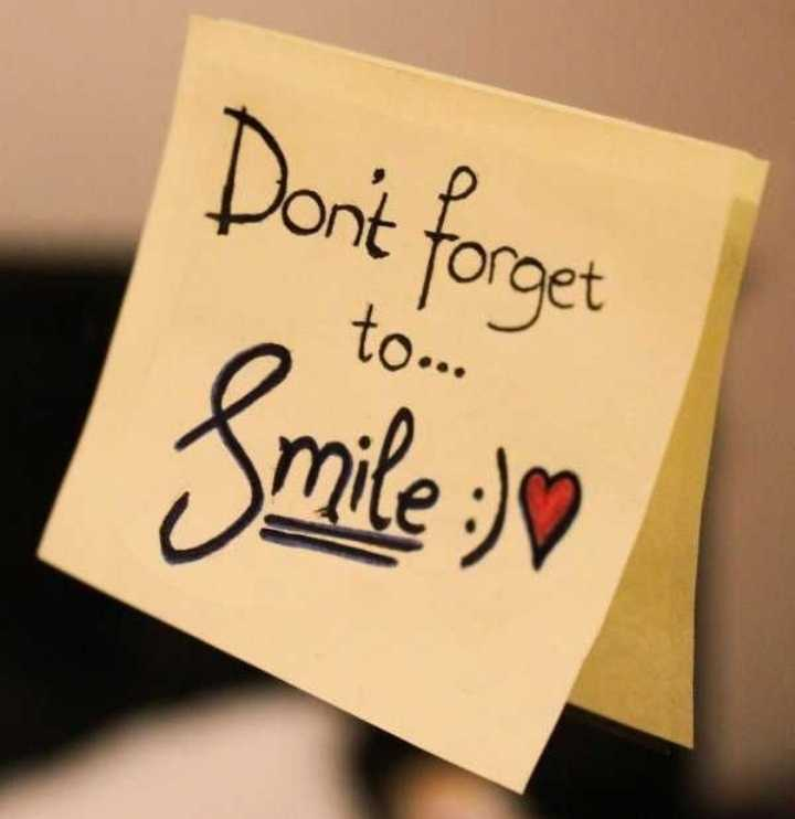 tag - Don ' t forget Smile : ) - ShareChat