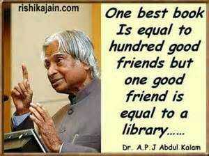inspirational qutoes - rishikajain . com One best book Is equal to hundred good friends but one good friend is equal to a library . . . . . . Dr . A . P . J Abdul Kalam - ShareChat