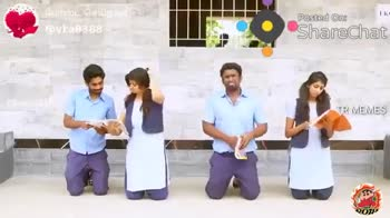 school love😍 - ( போஸ்ட் செய்தdiui - @ vka8388 Posted On : Sharechat TR MEMES போஸ்ட் செய்தவர் ; @ vka8388 Posted On : Sharechat ERUMA SAANI YOU DON ' T REALISE THE VALUE OF SCHOOL LIFE UNTIL ITS OVER TR MEMES - ShareChat