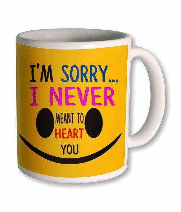sorry 😂😂😂 - I ' M SORRY . . . I NEVER MEANT TO HEART YOU - ShareChat