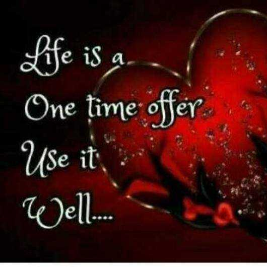 anushiya - Life is a l One time offer Use it . Well . . - ShareChat