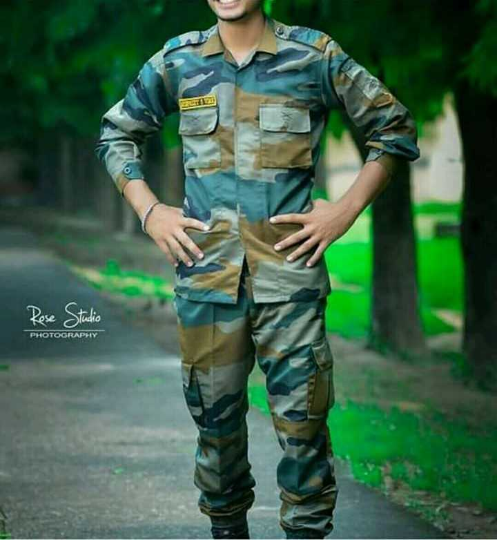 army lovers - Rose Studio PHOTOGRAPHY - ShareChat