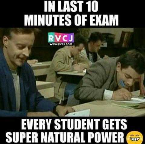 b.tech students - IN LAST 10 MINUTES OF EXAM RVCJ WWW . RVCI . COM EVERY STUDENT GETS SUPER NATURAL POWER - ShareChat