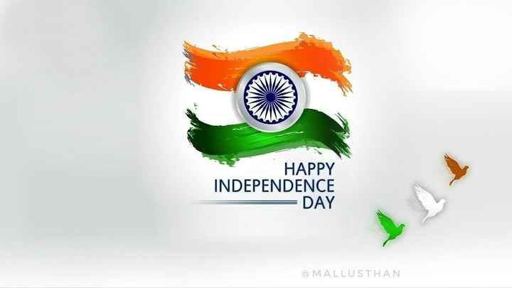 happy independence day - HAPPY INDEPENDENCE DAY MALLUSTHAN - ShareChat