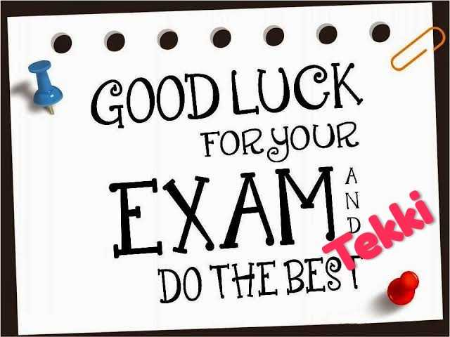 all the best - * GOOD LUCK FOR YOUR EXAM U DO THE BEST - ShareChat