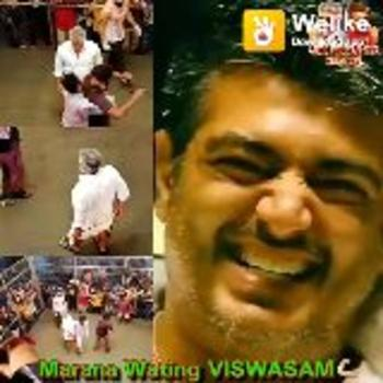 #viswasam 2nd look - o Welike Welike Download app AJITHWERIYAN SIVA CREATION S SSR Marana Wating VISWASAM Welike Download app UITH VERIYAN SIVA CREATON Welke AMELY NO Marana Wating VISWASAM - ShareChat