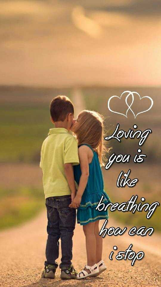 love ❤ is life - Loving you is breathing how can - ShareChat
