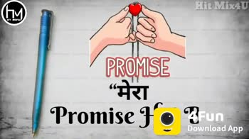 Happy Promise Day 🤞🤞🤞 - Hit Mix4U HIT PRIXYU मैं तुम्हें Chand , Tare To N De site Hit Mix4U HIT PIRYU My love will always be with you Till my last To th4Fun luv yo Download App - ShareChat