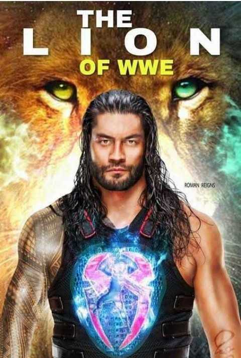 🥊   WWE - THE O OF WWE N ROMAN REIGNS 0 no - ShareChat