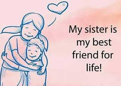 miss you images - My sister is my best friend for life ! - ShareChat