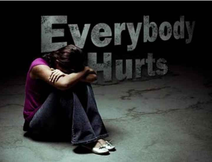 sad status😪😪 - Everybody Hurts - ShareChat