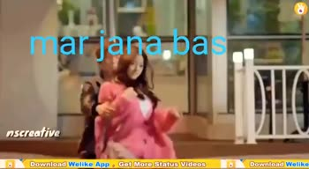 dhokha - mar jana bas itative Download Welike App Get More Status Videos Download Welike mara bas Welike Download Free Whatsapp Status Videos Get it on Google play Download Welike App o Get More Status Videos 8 Download Welike - ShareChat