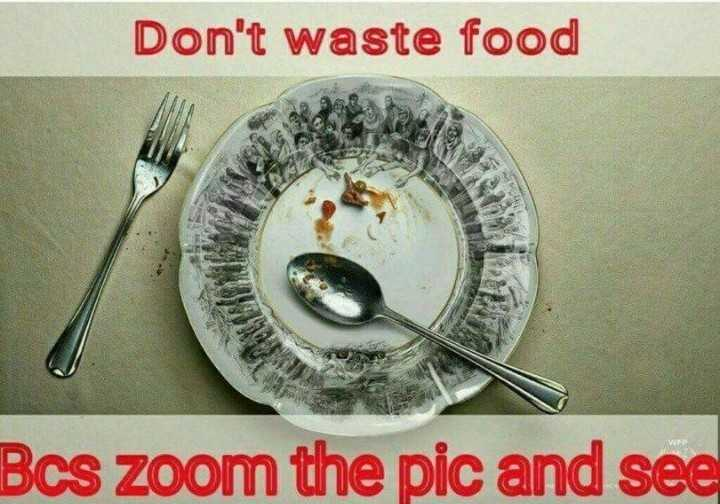 ನನ್ನ ಪ್ರೋಪೈಲ್ - Don ' t waste food Bcs zoom the pic and see - ShareChat