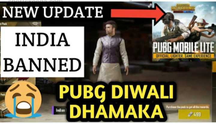 pubg lover - HATRONIS NEW UPDATE INDIA INDIA PUBG MOBILE LITE BANNED PUBG DIWALI DHAMAKA SHEME OFFICIAL , LIGHTER , SAME EXPERIENCE $ 499 - ShareChat