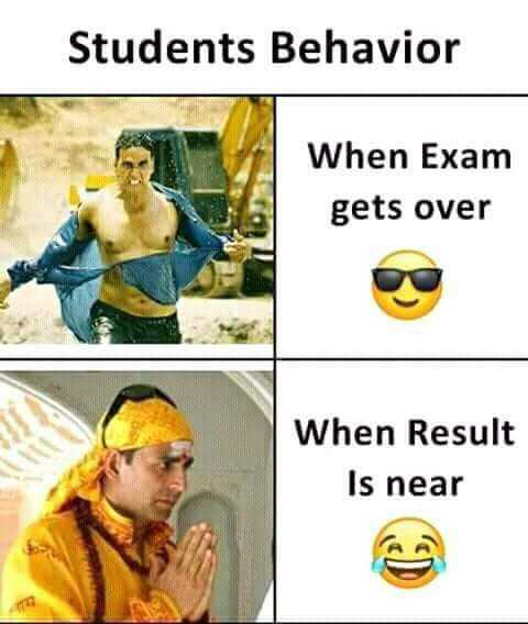 Student Scolarship - Students Behavior When Exam gets over When Result Is near - ShareChat