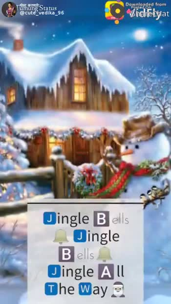 📹Christmas Video स्टेटस - Tümüng Status @ cute vedika _ 96 Donloaded from Shared LEVEGUETE DINGLE BELLS INGLE BELLS JINGLE ALL BHE WAY pumung Status @ cute vedika 96 Darunted dad from Shereciat What Fun It Os To Ride And Sing A Sleighing Song Torch - ShareChat