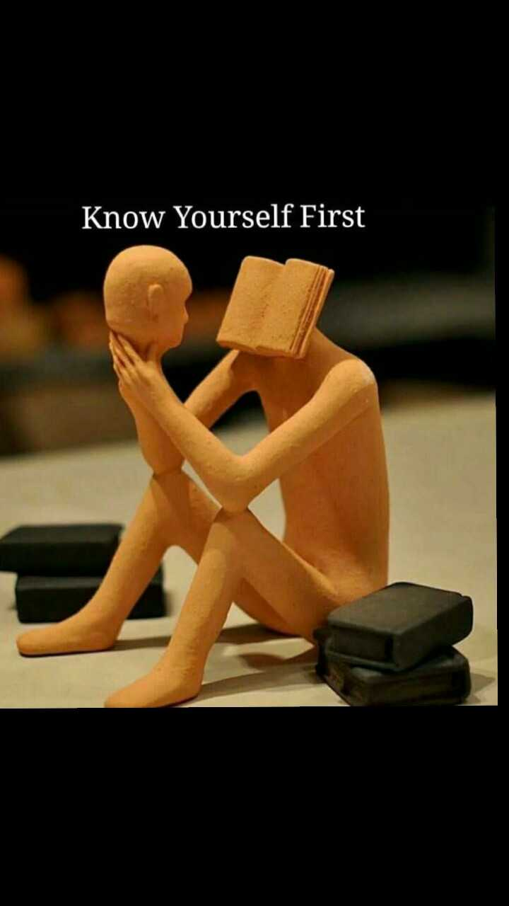 believe in yourself - Know Yourself First - ShareChat
